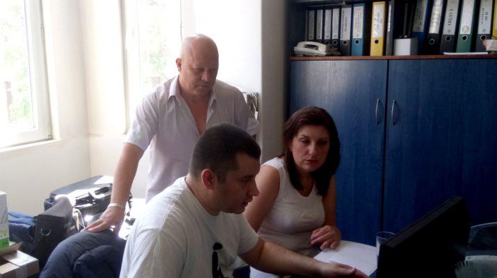 Среща с специалистите от Велико Търново
